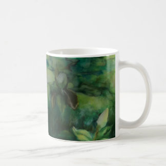 Taza de cerámica de la sombra de la magnolia