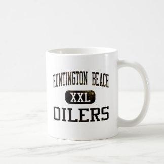 Taza de cerámica de los engrasadores de Huntington