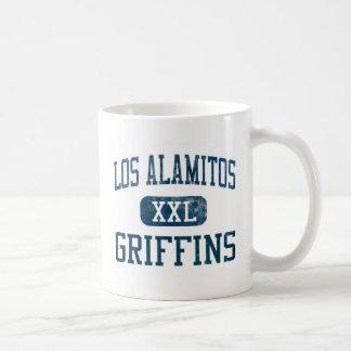 Taza de cerámica de los grifos de Los Alamitos