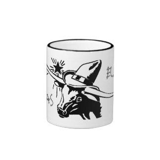Taza de cerámica del fonolocalizador de bocinas