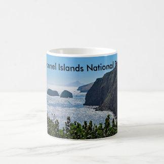 Taza de cerámica del parque nacional de las Islas