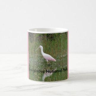 Taza de cerámica del parque nacional de los