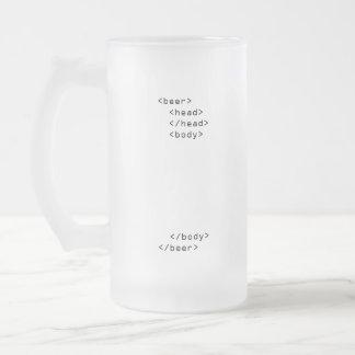 Taza de cerveza del HTML