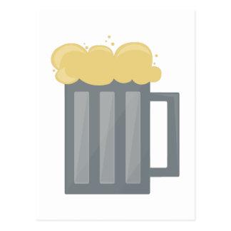 Taza de cerveza postal