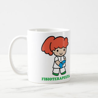 Taza de chica fisioterapeuta
