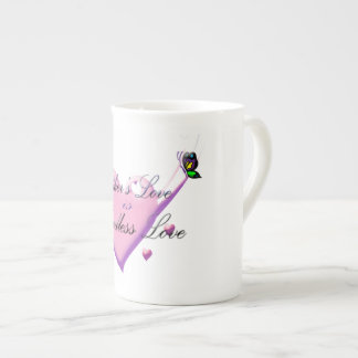 Taza de China del amor de madre