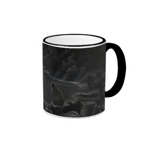 Taza de Cofee del Macaque - Taza de Macacos