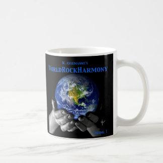 Taza de Coffe de la armonía de la roca del mundo