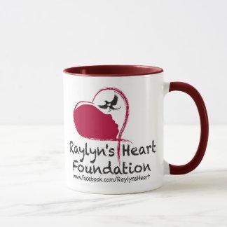 Taza de Coffe de la fundación del corazón de