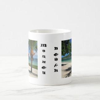 Taza de Coffe de la playa del mono