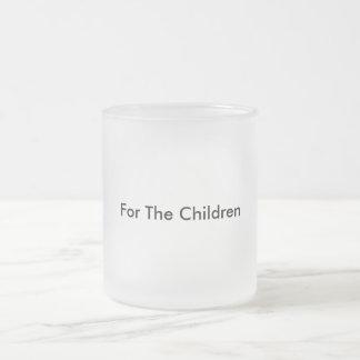 Taza de cristal de Frost de la donación