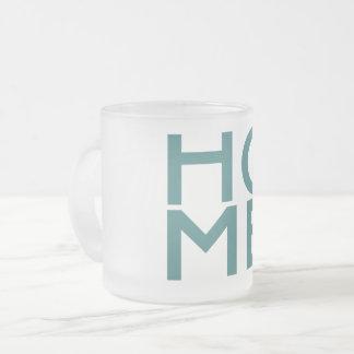 Taza de cristal escarchada de New Hampshire