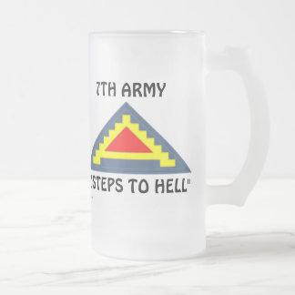 Taza De Cristal Esmerilado 7mo Ejército frm/1