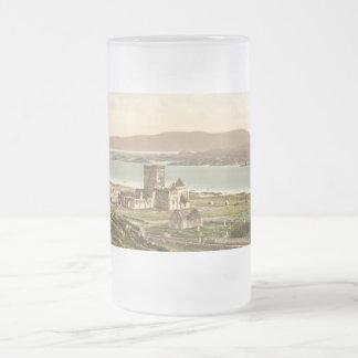 Taza De Cristal Esmerilado Abadía de Iona, Argyll y Bute, Escocia