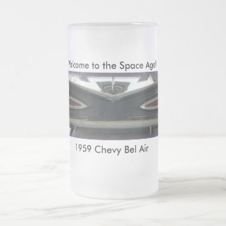 Taza De Cristal Esmerilado Bel Air 1959 de Chevy