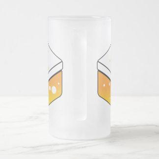 Taza De Cristal Esmerilado Cerveza JP - vidrio doble de la cerveza de la