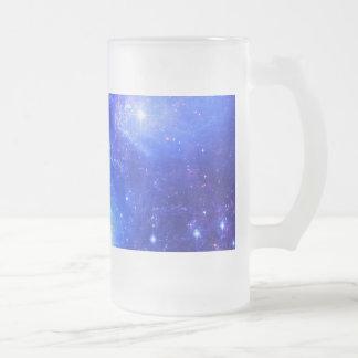 Taza De Cristal Esmerilado Cielo iridiscente