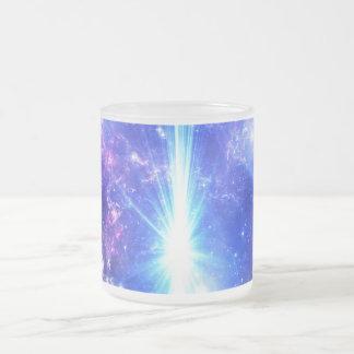 Taza De Cristal Esmerilado Cielos iridiscentes