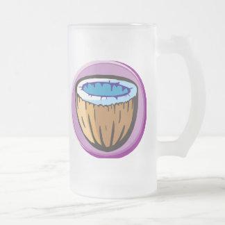 Taza De Cristal Esmerilado Coco 1