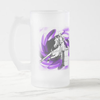 Taza De Cristal Esmerilado Corredor 101 del barril