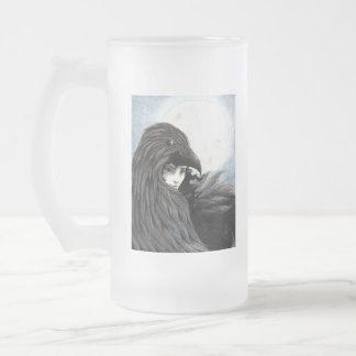 Taza De Cristal Esmerilado Drinkware totémico de Hecate