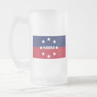 Taza De Cristal Esmerilado Estándar del gobernador de Hawaiʻi
