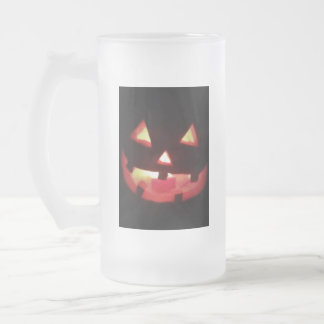Taza De Cristal Esmerilado Halloween