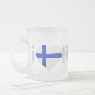 Taza De Cristal Esmerilado JERRILLA diseño Custom Finland Mug Cup