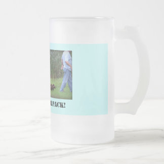 Taza De Cristal Esmerilado Líder del paquete