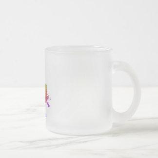 Taza De Cristal Esmerilado Luisiana