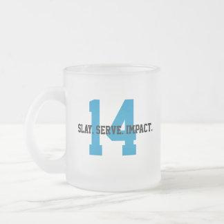 Taza De Cristal Esmerilado MGL Cuppa - meta #14: Vida debajo del agua