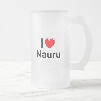Taza De Cristal Esmerilado Nauru