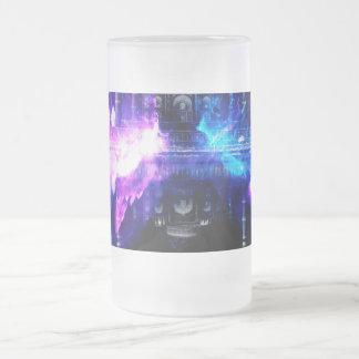 Taza De Cristal Esmerilado Sueños de Amorem Amisi el Taj Mahal del anuncio