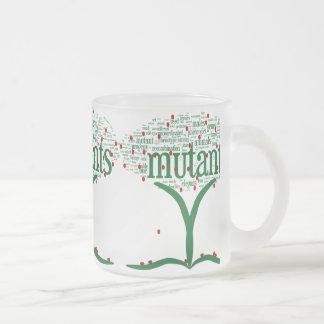 Taza De Cristal Esmerilado tree3