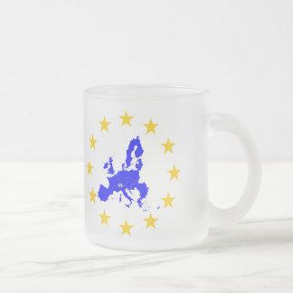 Taza De Cristal Esmerilado Unión europea