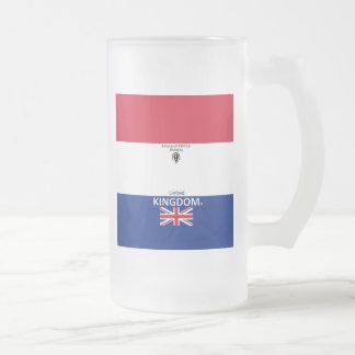 Taza De Cristal Esmerilado Vidrio esmerilado de Reino Unido