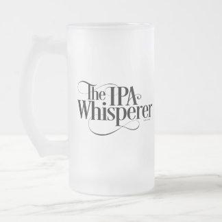 Taza De Cristal Esmerilado Whisperer de IPA