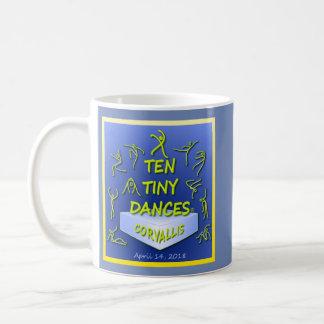 """Taza de """"diez Dances® minúsculo"""" Corvallis"""