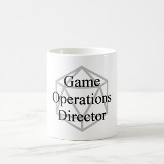 Taza de DIOS (director de las operaciones del