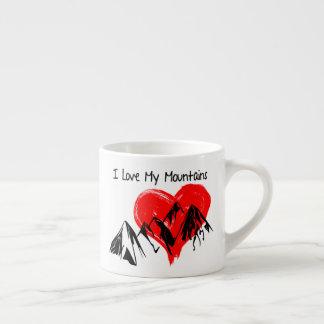 Taza De Espresso ¡Amo mis montañas!