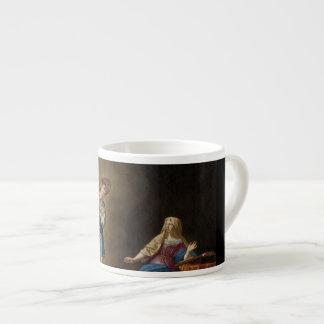 Taza De Espresso Ángel y Maria del anuncio