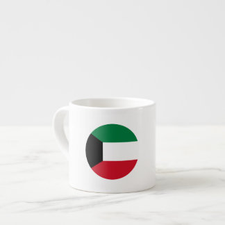Taza De Espresso Bandera de Kuwait