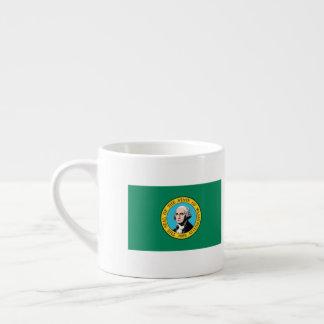 Taza De Espresso Bandera de Washington