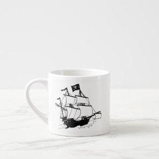 Taza De Espresso Barco pirata