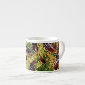 Taza De Espresso Cucarachas