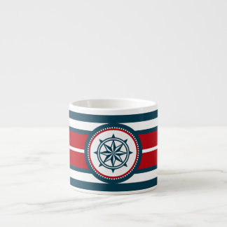 Taza De Espresso Diseño náutico