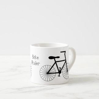 Taza De Espresso Diseño personalizado de la bicicleta