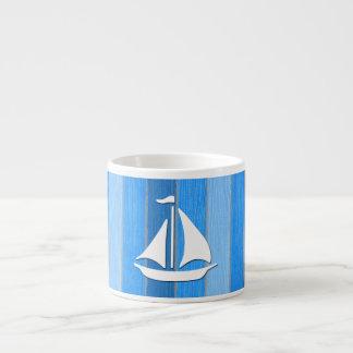 Taza De Espresso Diseño temático náutico