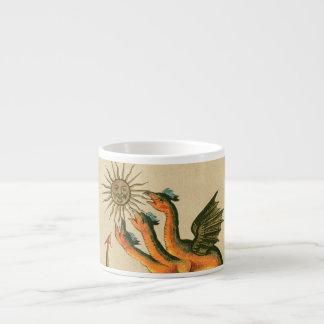 Taza De Espresso Dragones de Clavis Artis
