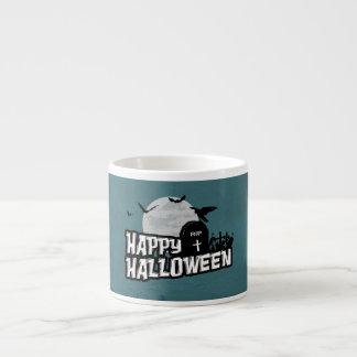 Taza De Espresso Feliz Halloween
